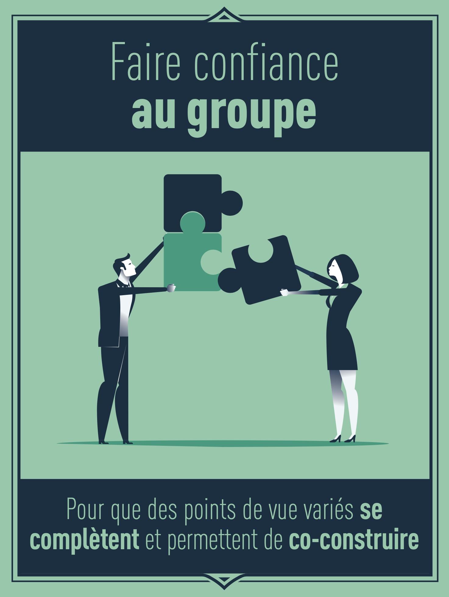 Faire confiance au groupe : pour que des points de vue variés se complètent et permettent de co-construire