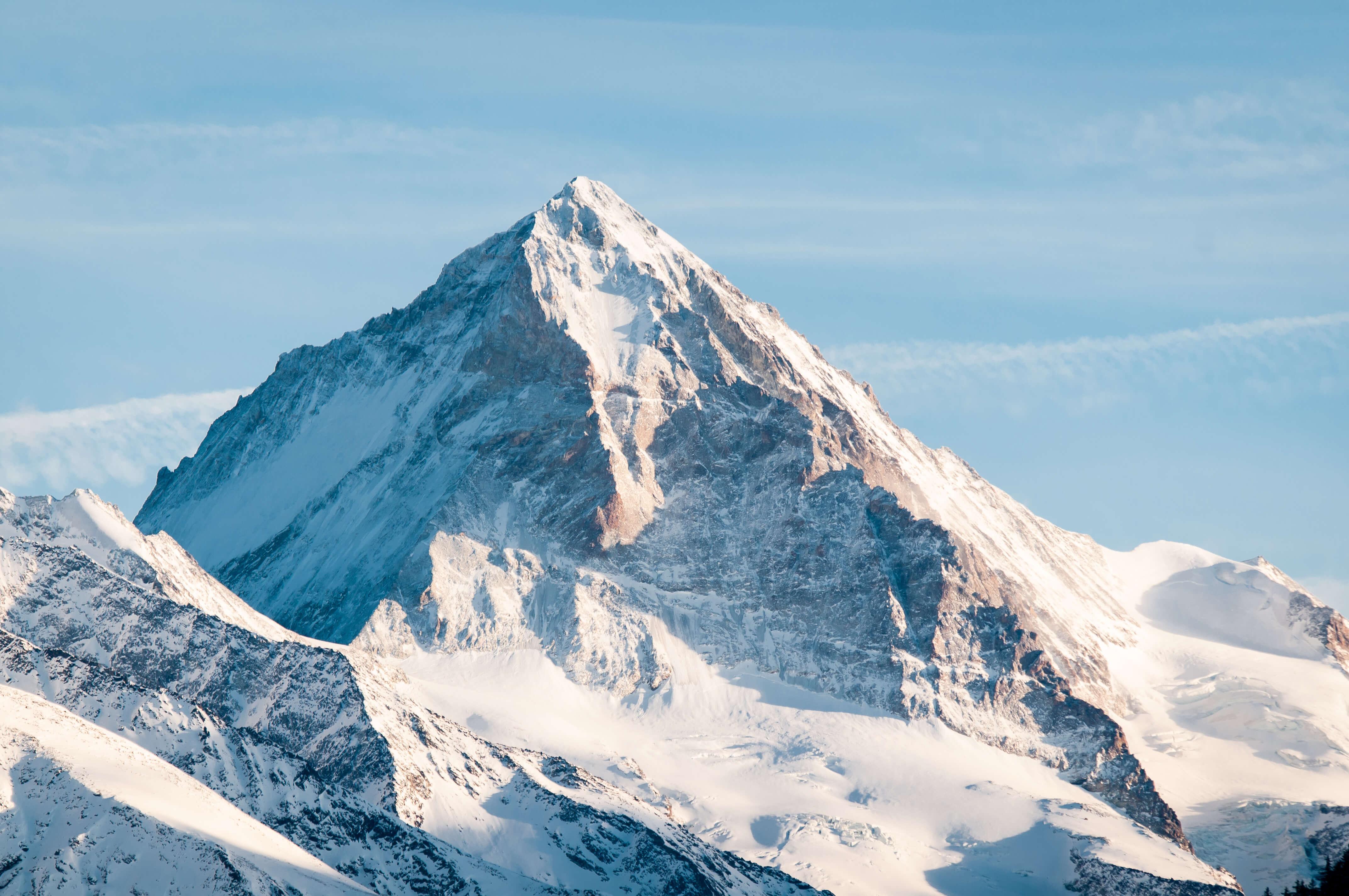 Berggipfel Winter Schnee