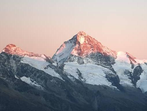 Berggipfel Sonne Schnee