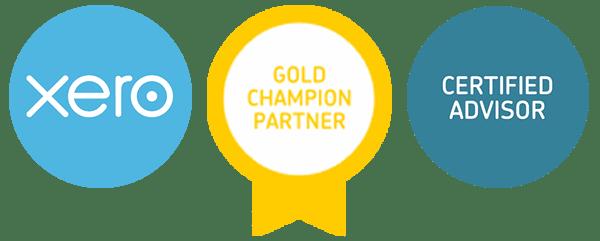 Xero Gold Champion Partner and Certified Advisor