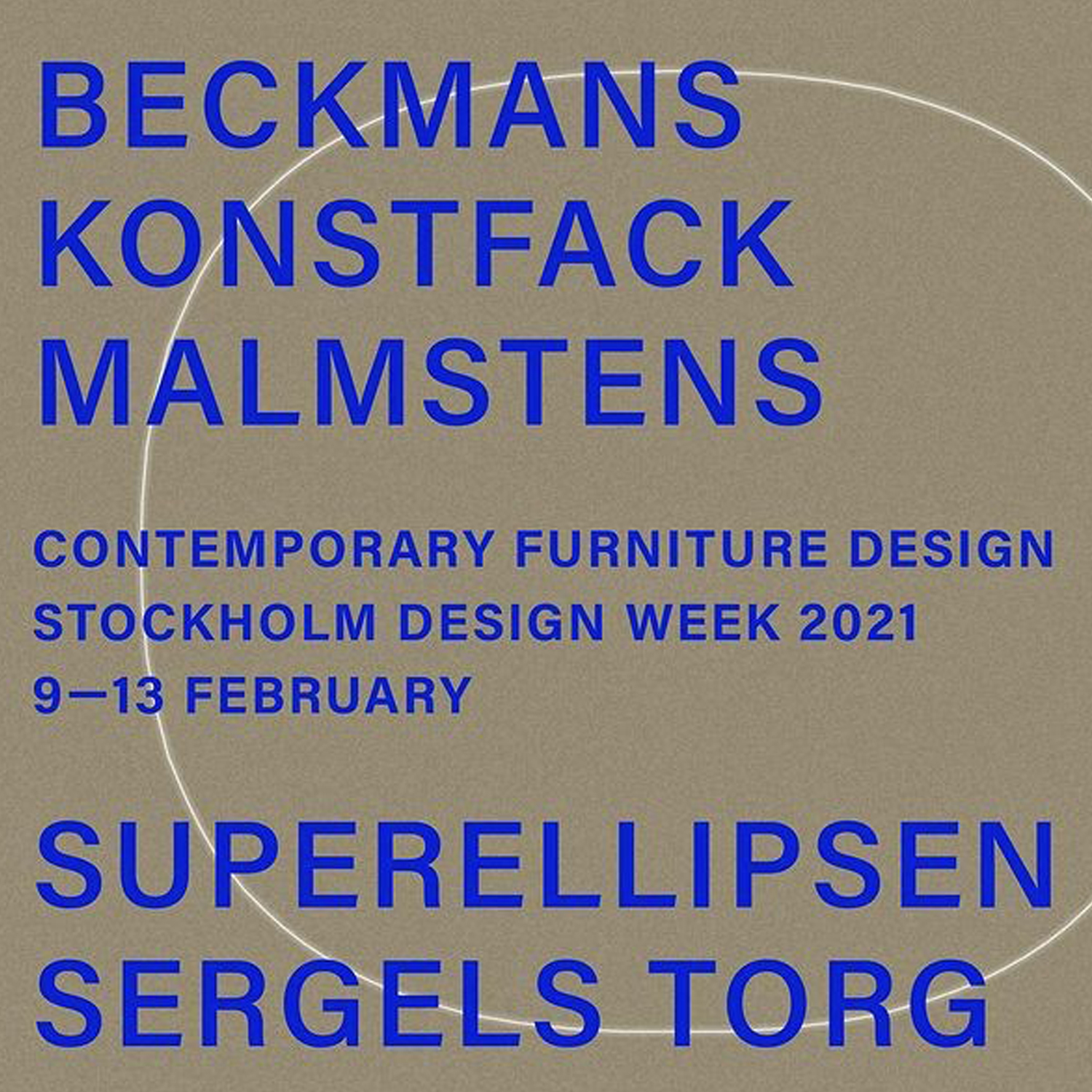 Beckmans/Konstfacks/Malmstens Greenhouse exhibition on the town