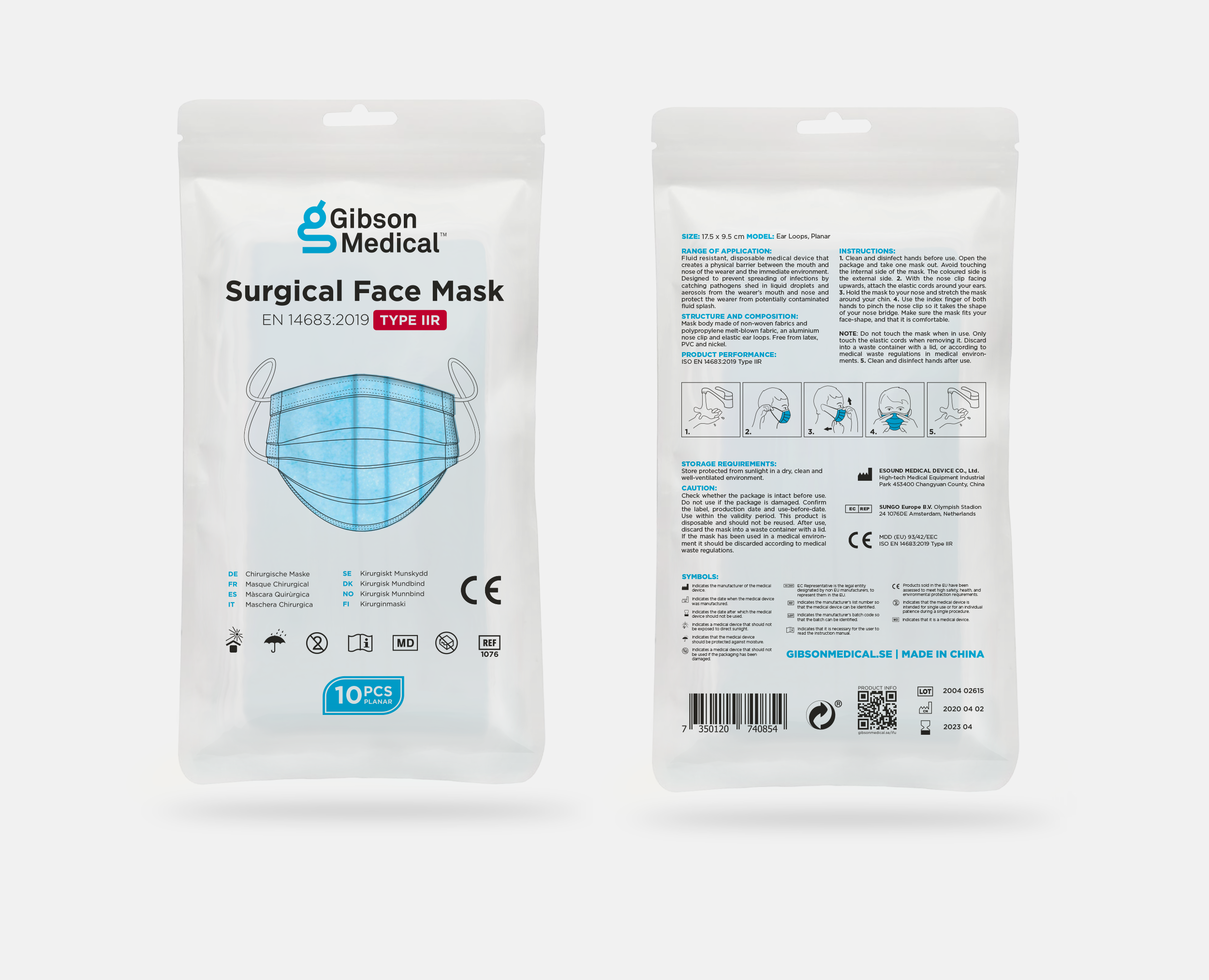 Surgical Face Mask Type IIR