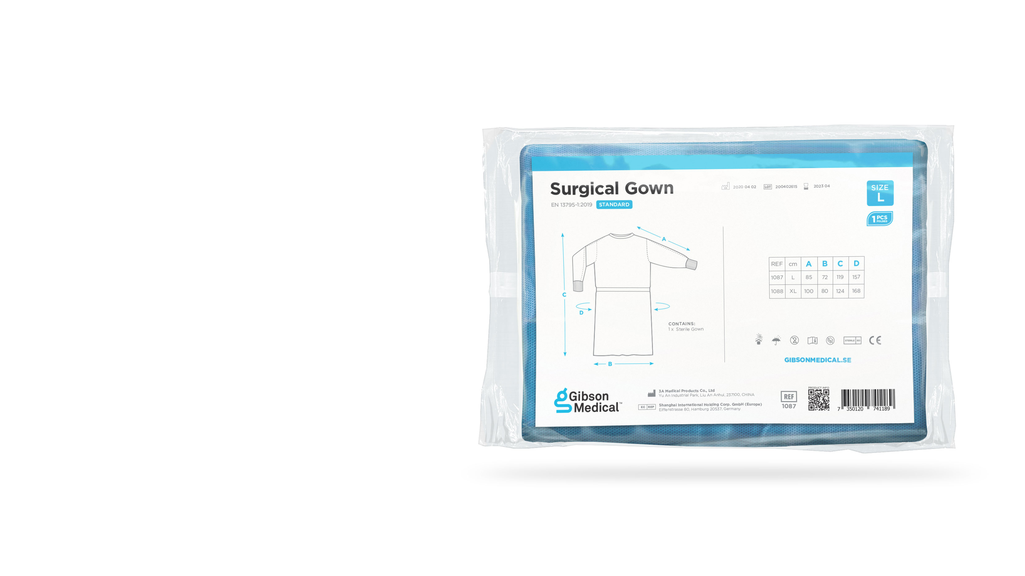 Surgical Gown - standard L
