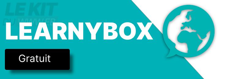Bannière publicitaire Learnybox