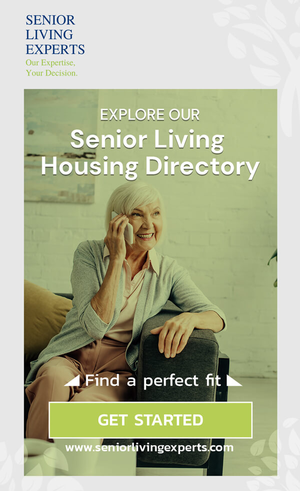 senior living housing directory