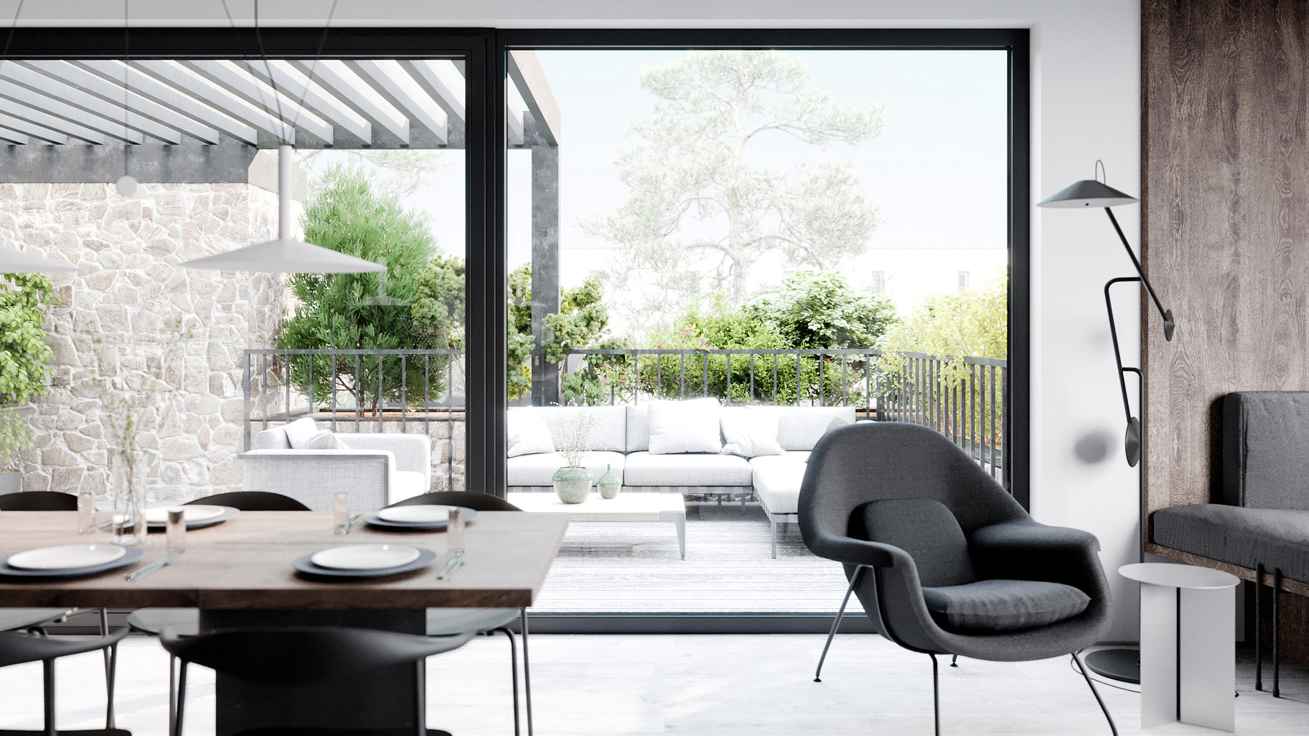 SMLXL - Břevnov - Interiér rodinného domu