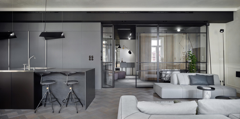 SMLXL - Laubova - Rekonstrukace - propojení dvou bytových jednotek
