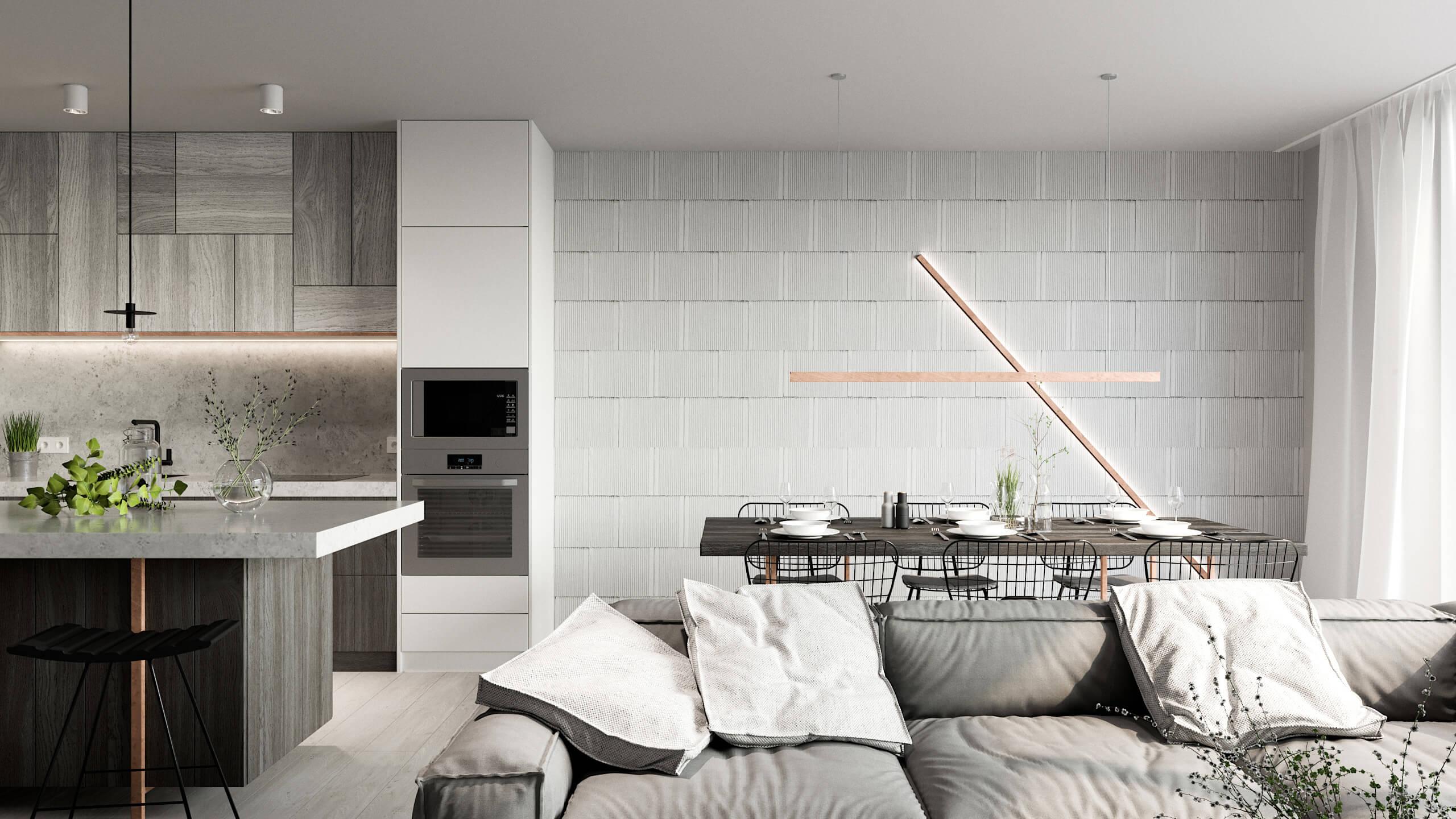 SMLXL - Jeremenkova - Rekonstrukce loftového bytu