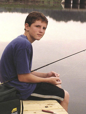 Brian Flannery childhood photo