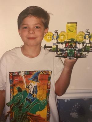 Jon Grover childhood photo