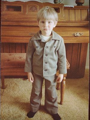 Gavin McClellan childhood photo