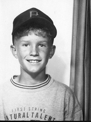 Taylor Safford childhood photo