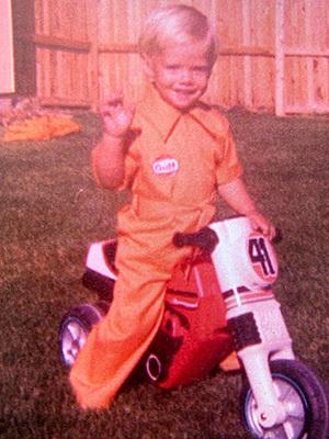 Bryan Wise childhood photo