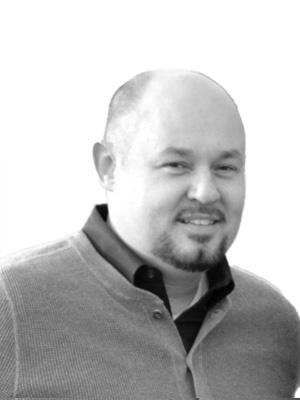 Kurt Williams black and white headshot