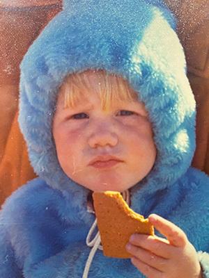 Justin Jackson childhood photo