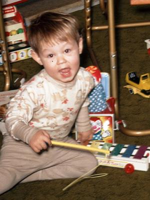 Kurt Williams childhood photo