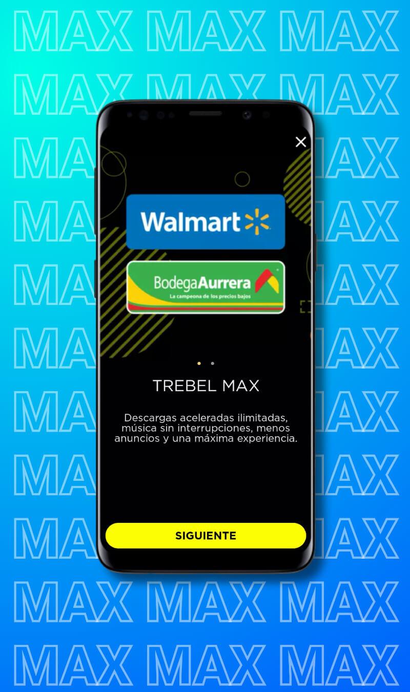 TREBEL MAX partnership with Walmart