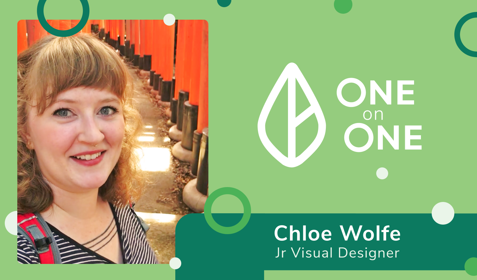 One on One Spotlight: Chloe Wolfe