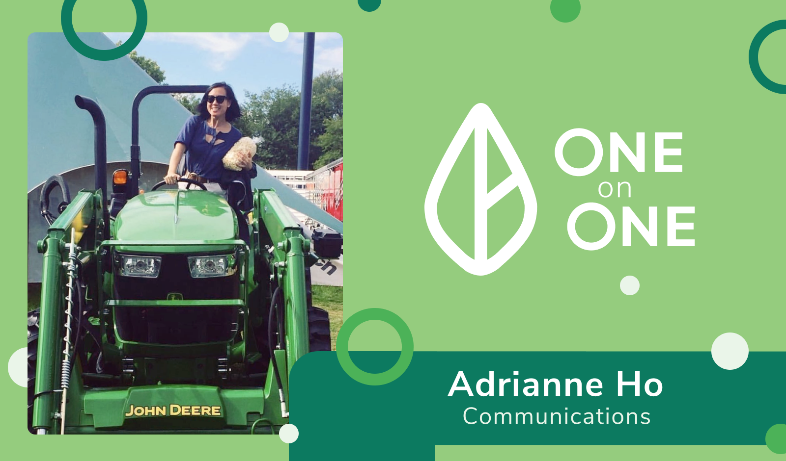 One on One Spotlight: Adrianne Ho