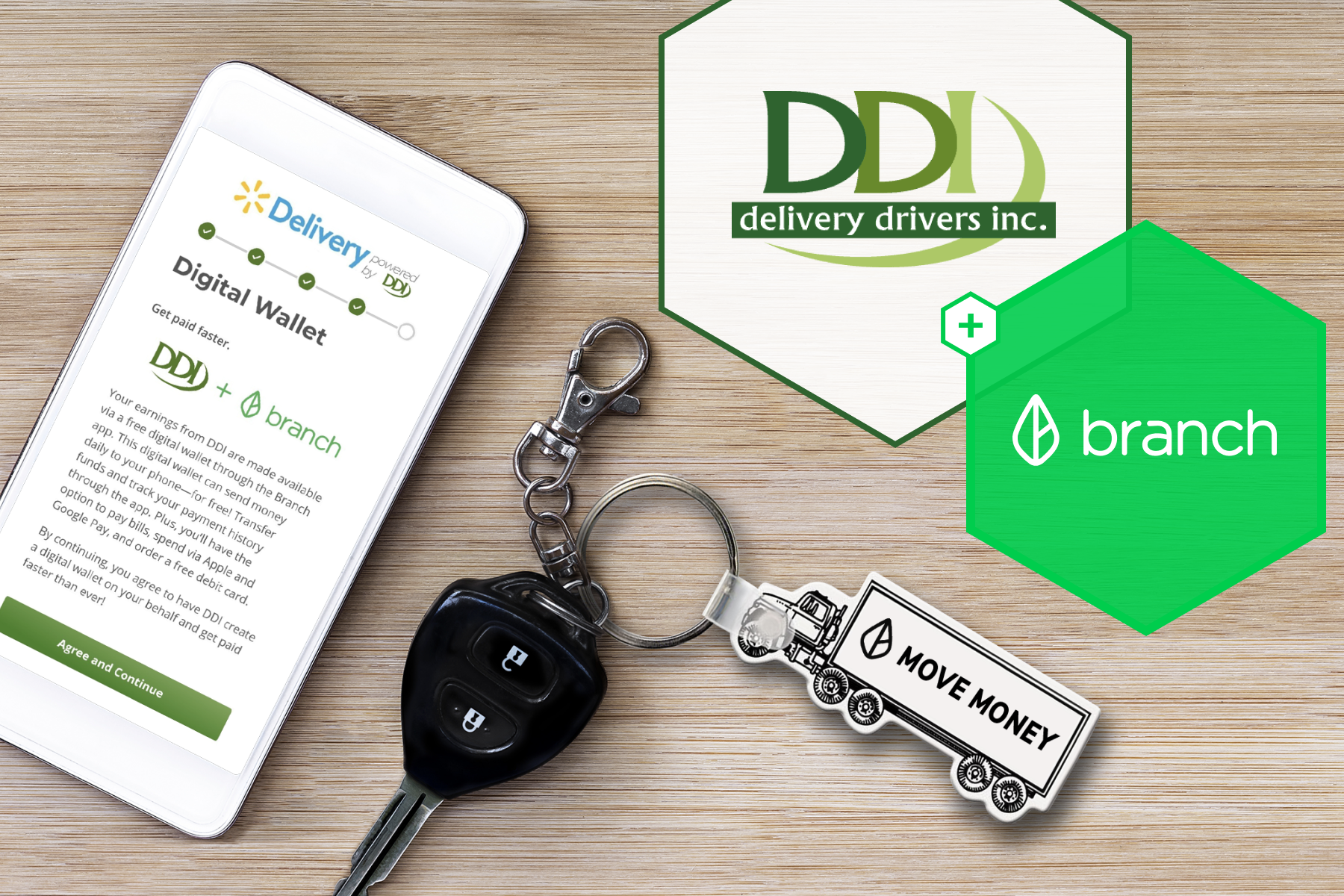 Branch + DDI: Offering Same-Day Payouts for Contractors