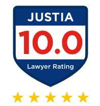 Justia 10.0 Rating Badge