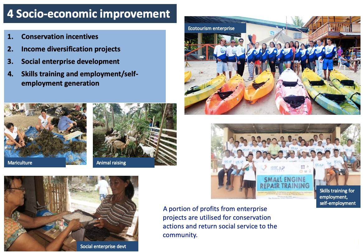 Socio-economic improvement