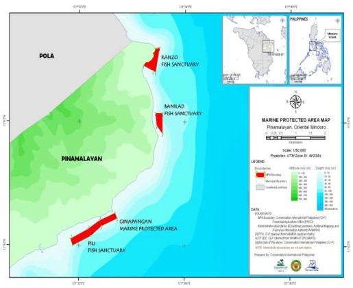 Pinamalayan Marine Protected Areas