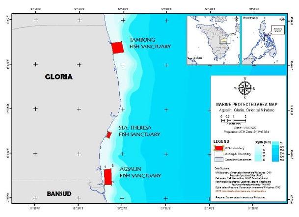 Gloria Marine Protected Areas