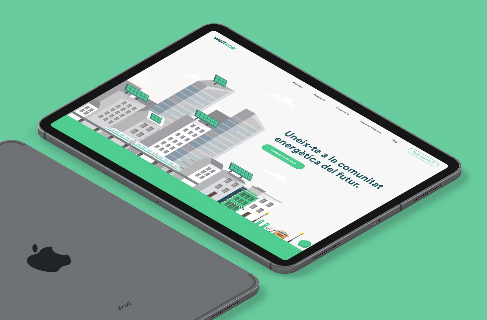 watteco diseño web