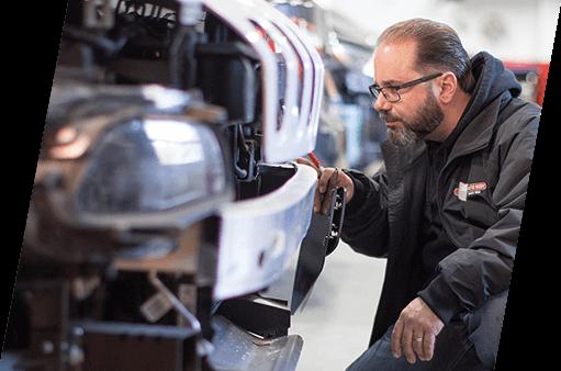 Insurance adjuster inspection