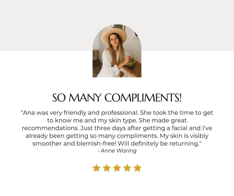 Ana Shpilman Review Instagram post