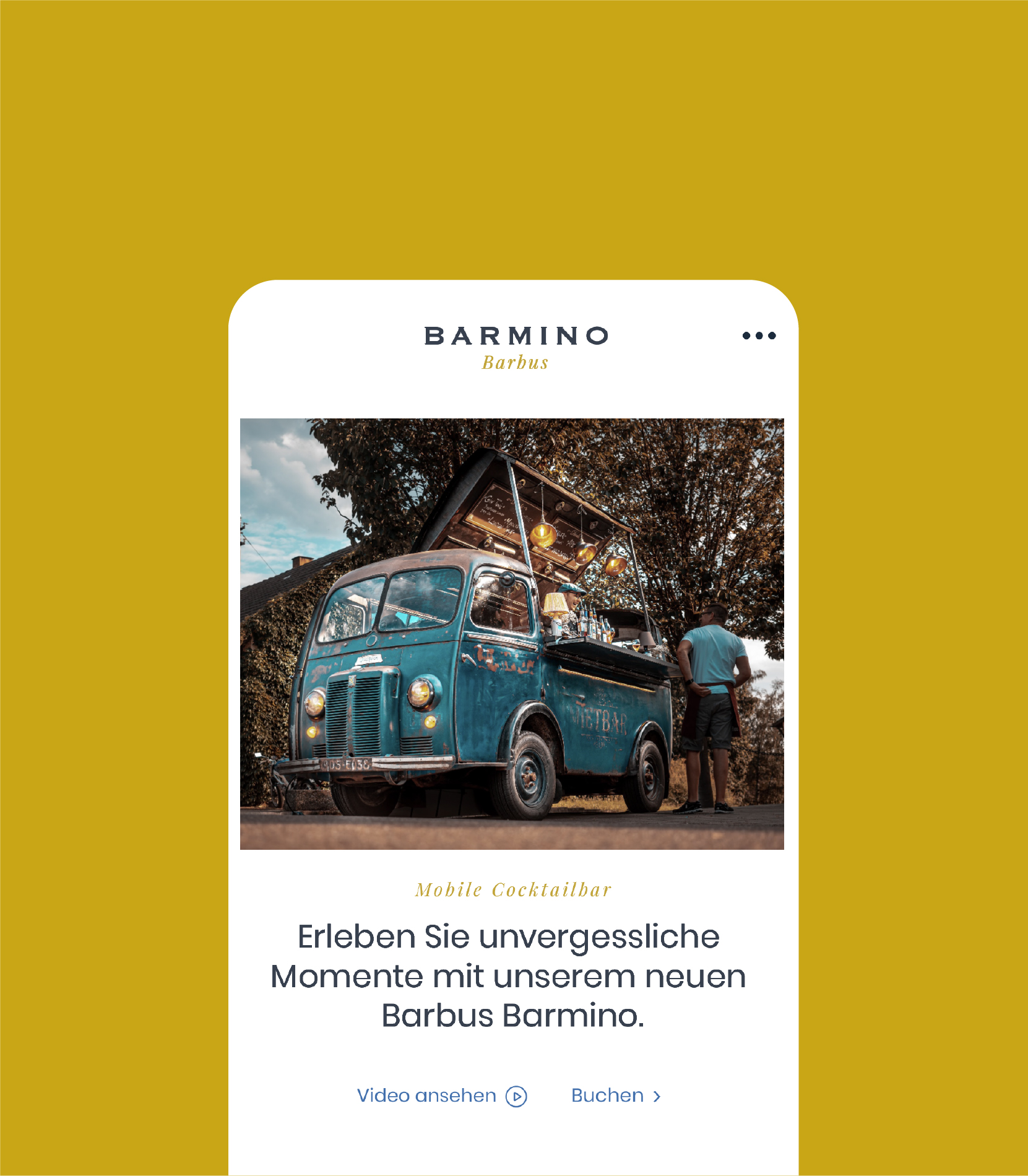 Corporate Design und Website — Barmino
