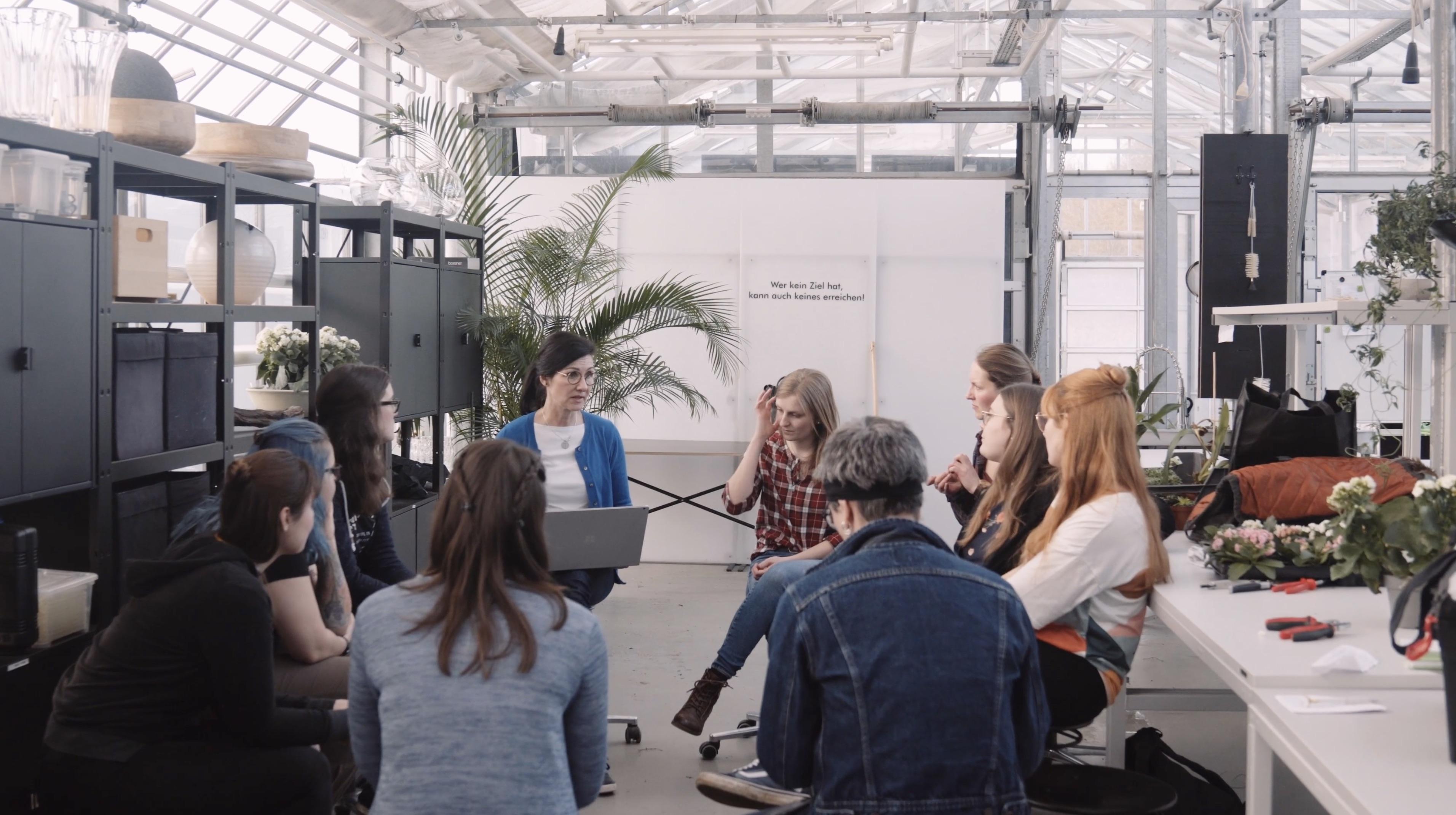 Imagevideo für die Floristmeisterschule Stuttgart-Hohenheim