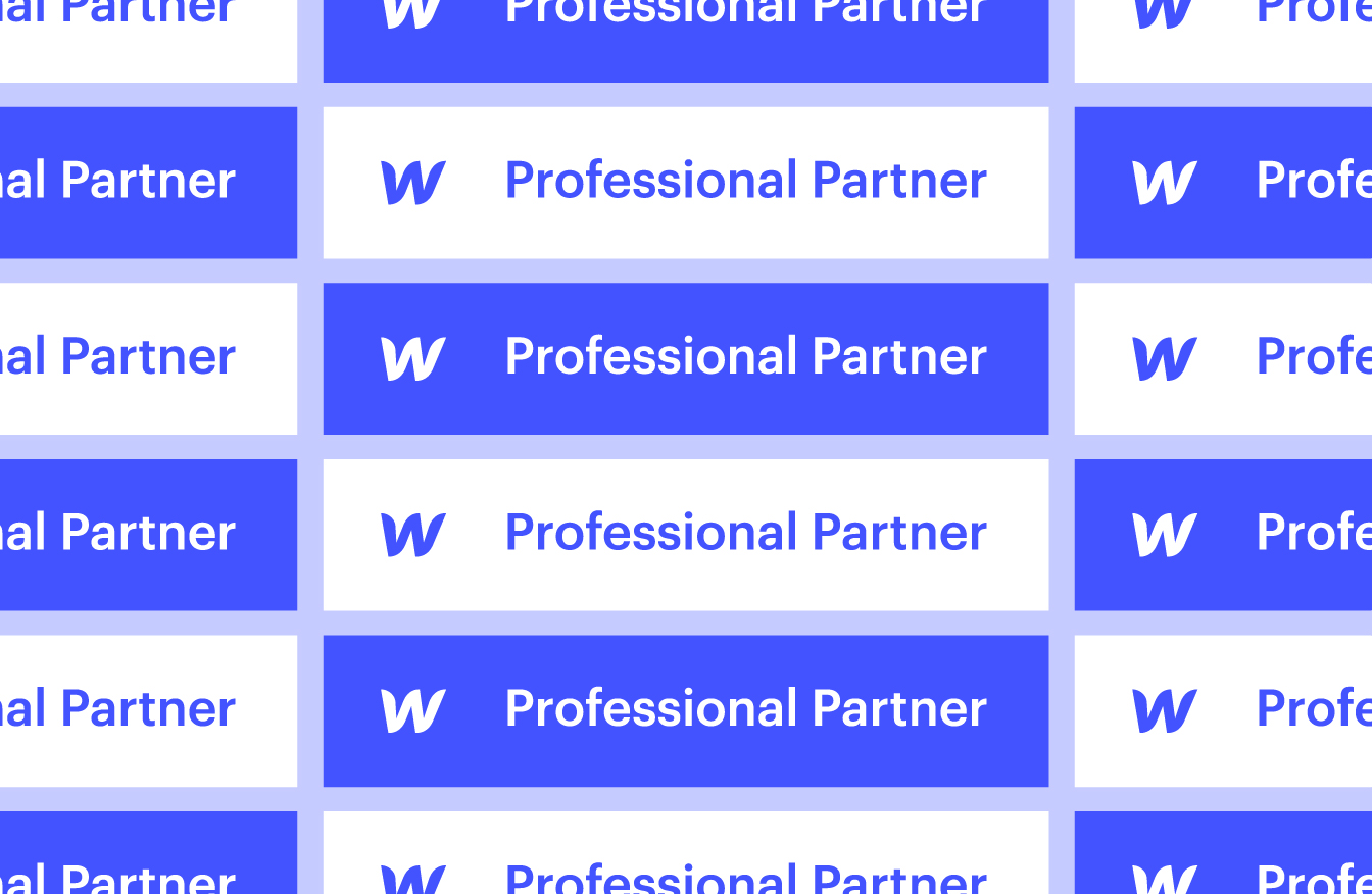 Halbstark wird Webflow Professional Partner