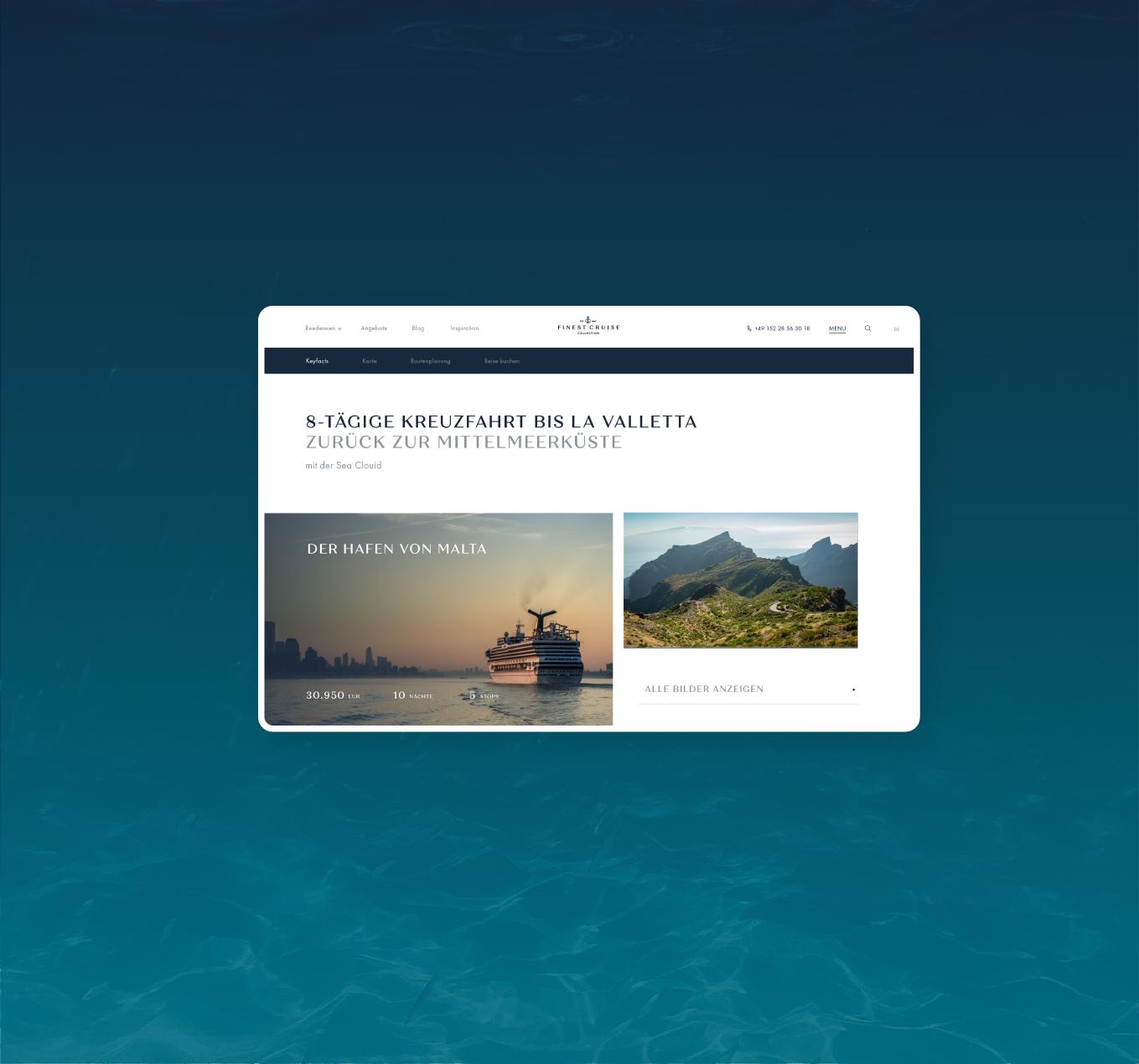 Markenentwicklung und Reiseportal für Schweizer Luxusreiseanbieter!