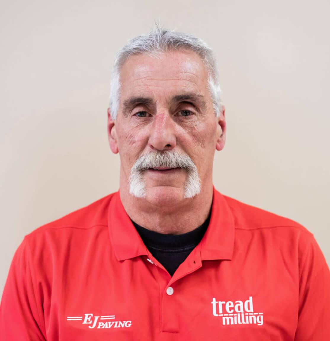 Portrait of Jim Ryder, Fleet Manager at EJ Paving.