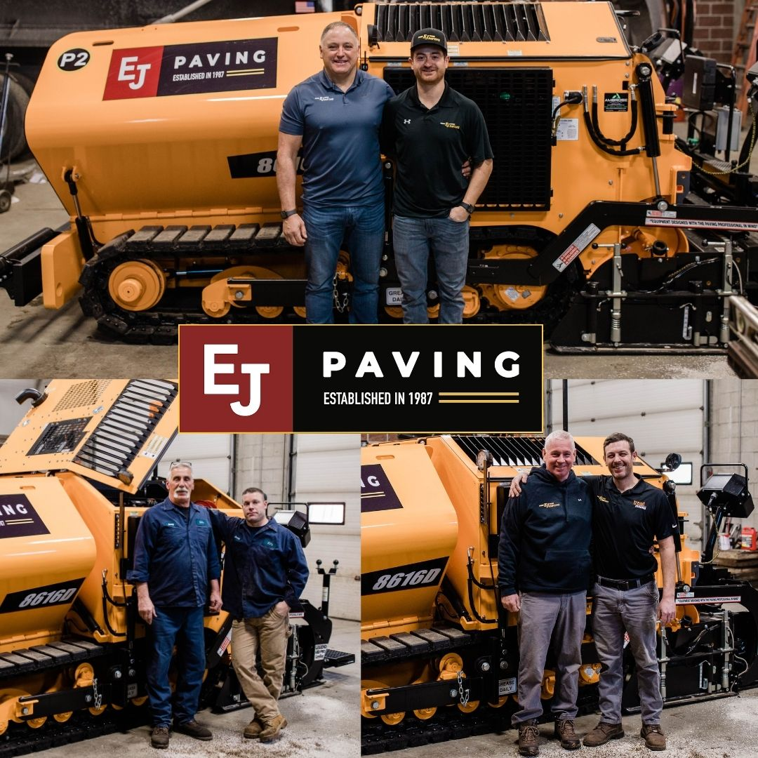 father and sons of EJ Paving