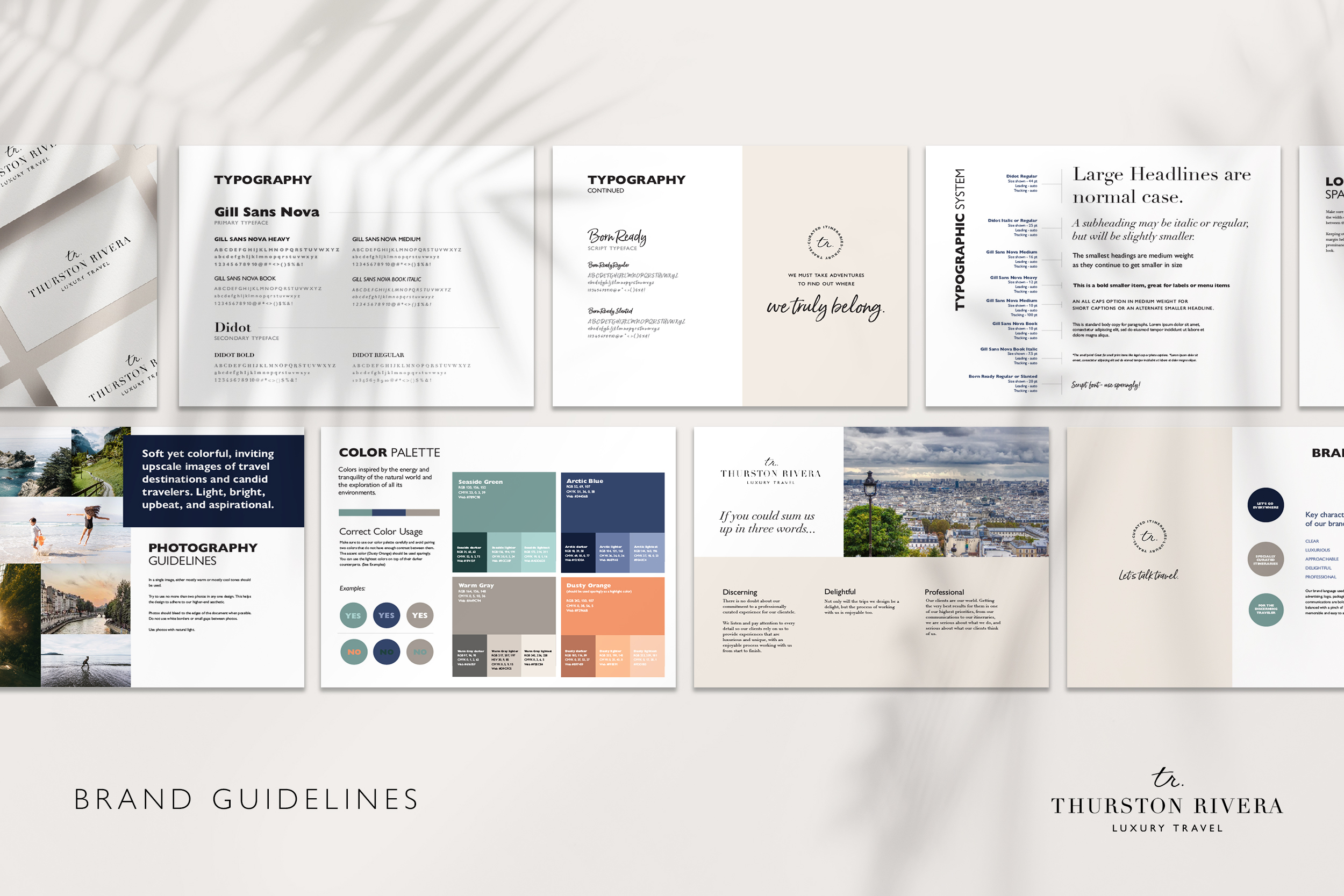 Brand Guidelines developed by CGDL