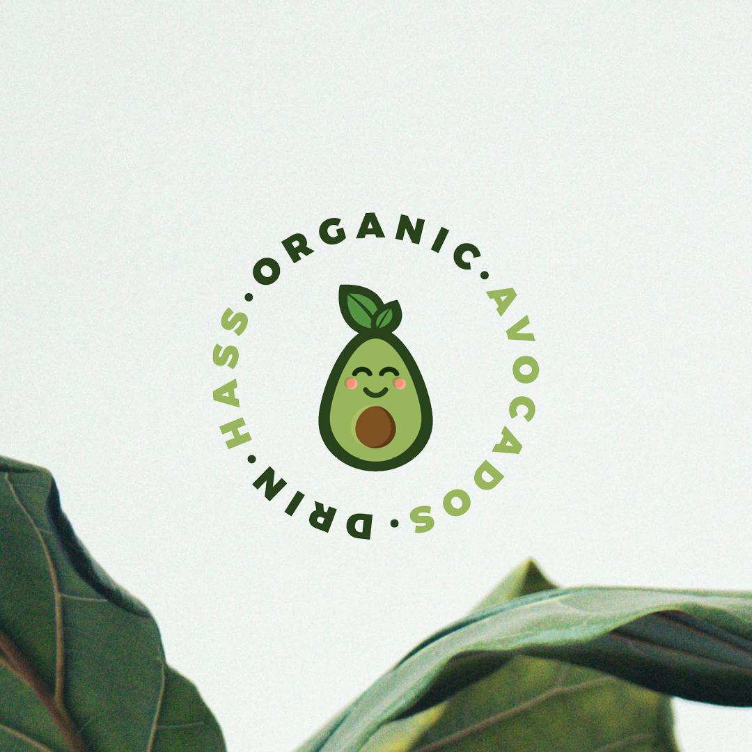 DrinHass Avocados logo design by CGDL