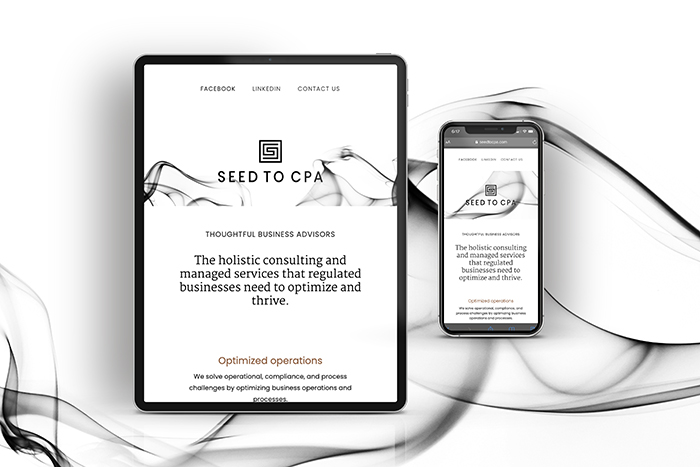 Seed to CPA website by CGDL