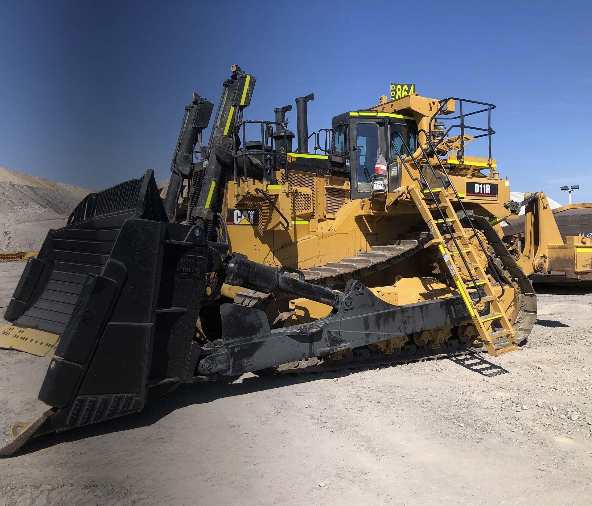 Aztech Caterpillar D11R equipment