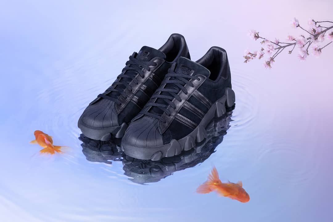 adidas x Angel Chen Superstar 80s / core black / FY5350