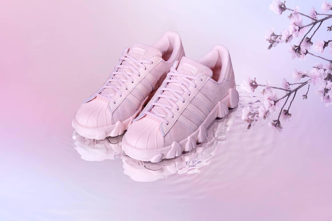 adidas x Angel Chen Superstar 80s / icey pink / FY5351