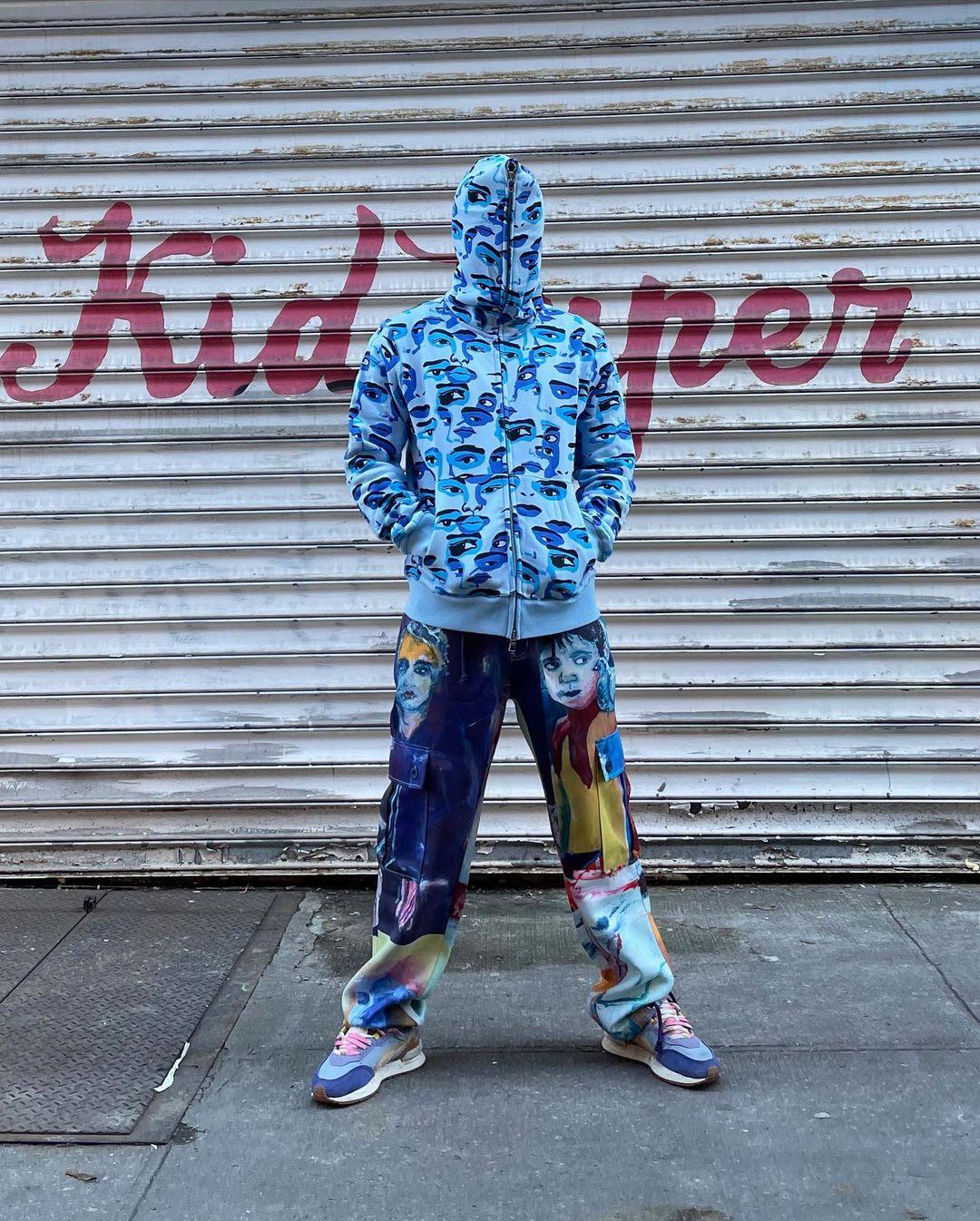 PUMAMirage Mox KidSuper / 357189-01 /blue on feet