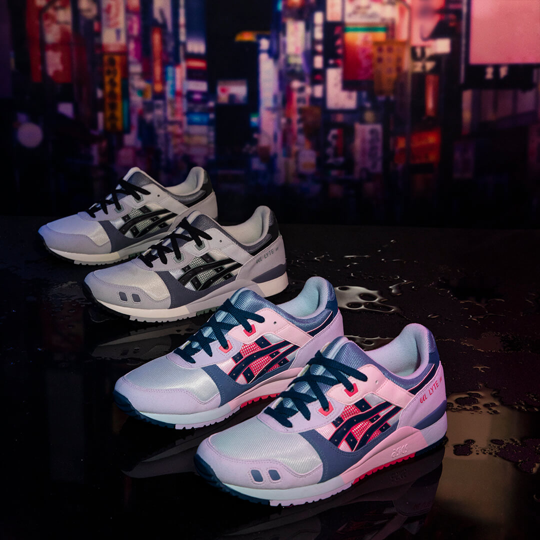 ASICSSportStyle Gel-Lyte IIIOG Back Streets of Japan - 1201A051-750 /1201A051-400