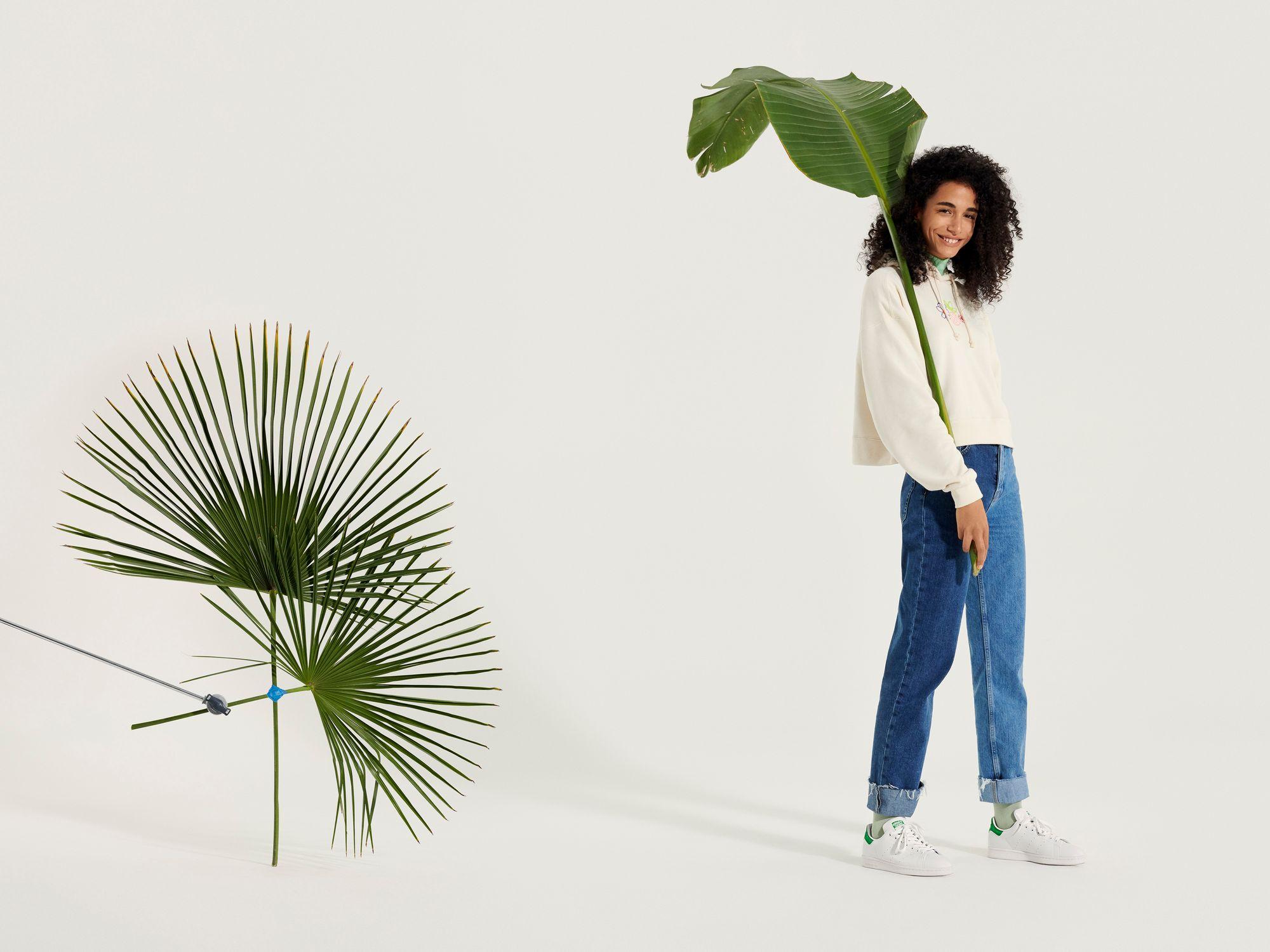 adidas Originals Stan Smith Primegreen / cloud white-green / FX5502 - on feet