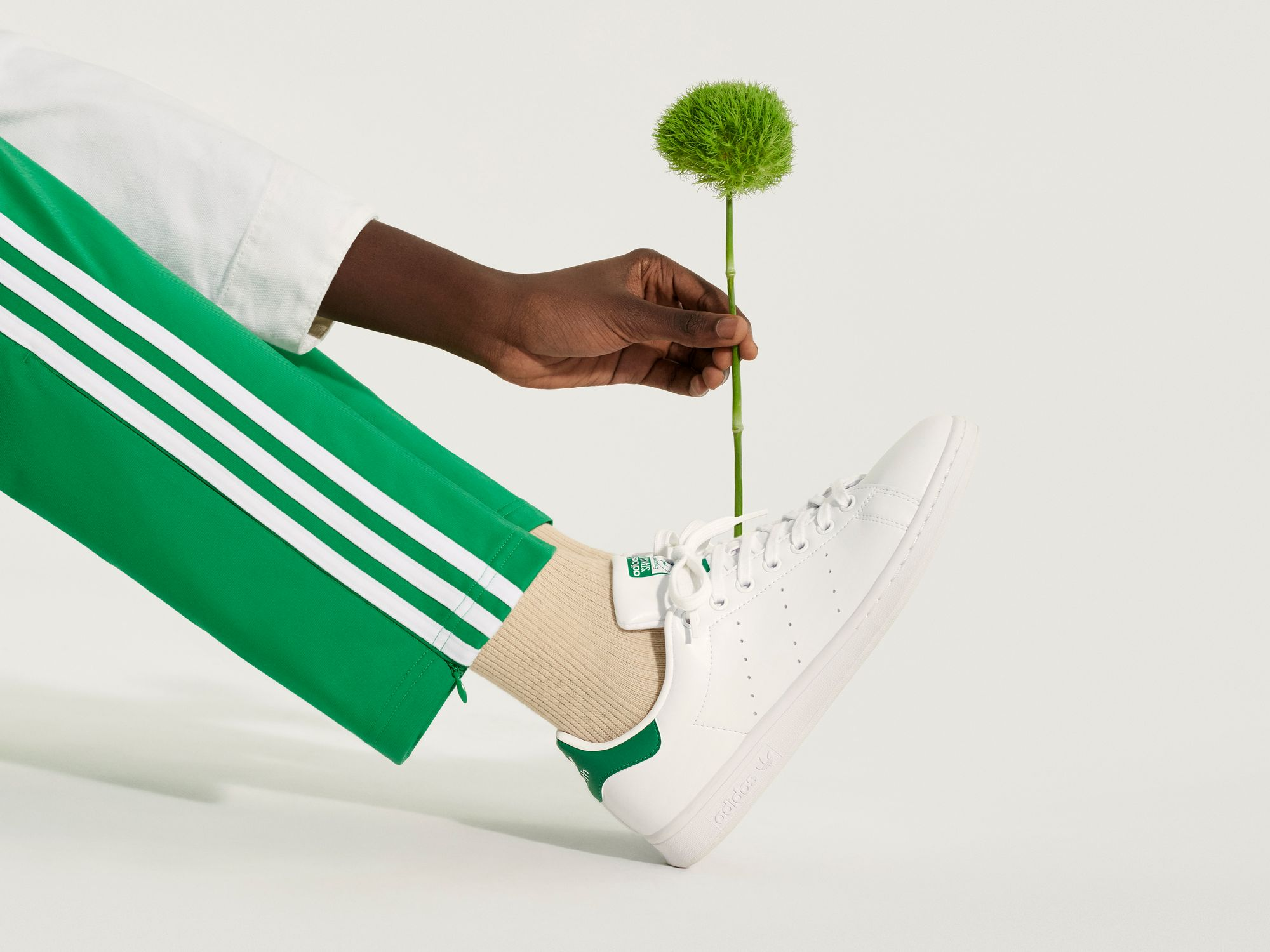 adidas Originals Stan Smith Primegreen / cloud white-green / FX5502