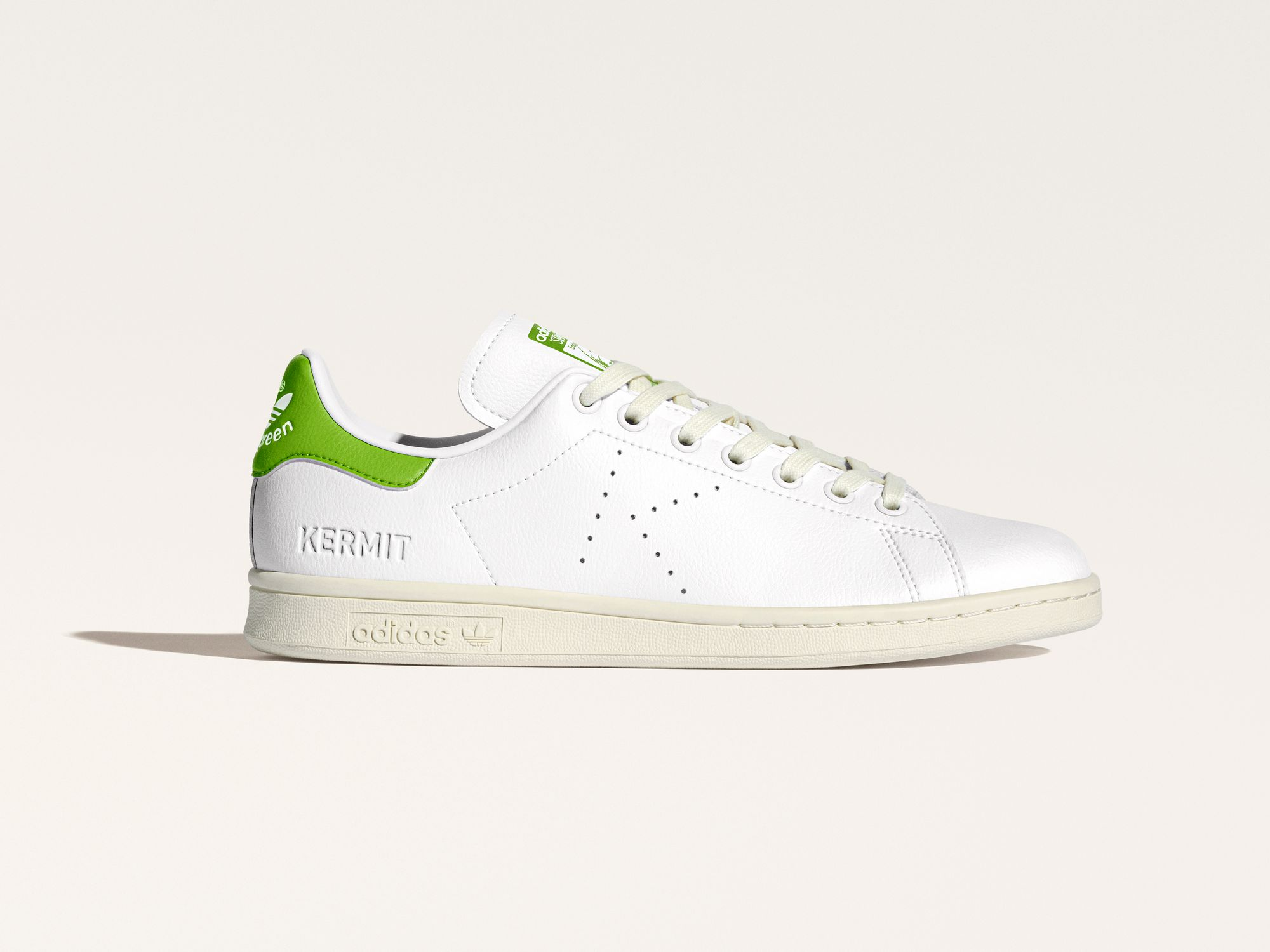 """adidas Originals x Disney Kermit The Frog """"Perforated K"""" - white/green - FY5460"""