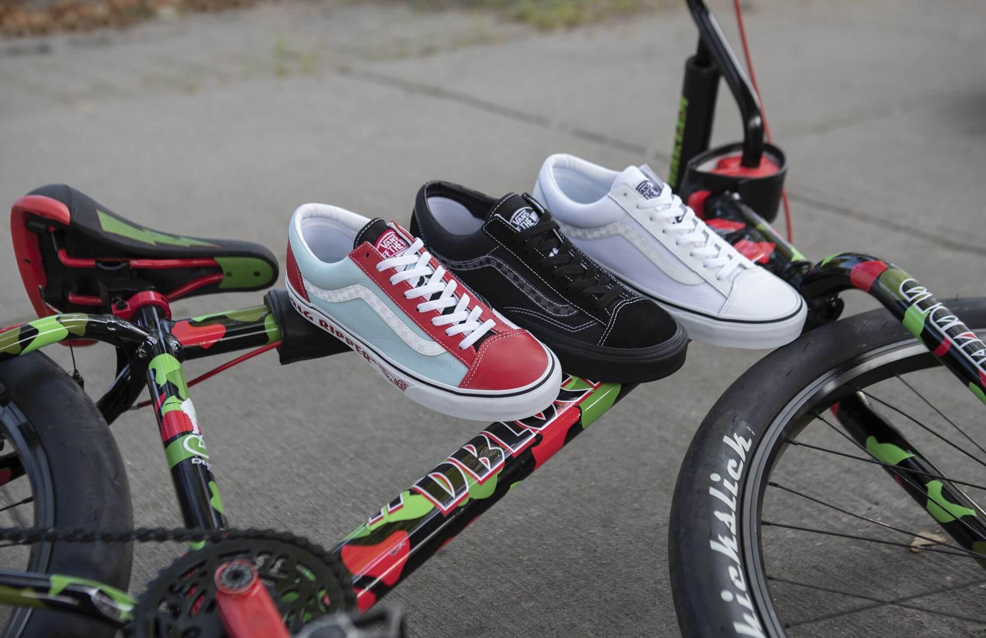 Vans x SE Bikes - Style 36 - Big Ripper / Big Ripper (auch als Lil Ripper) - PKRipper - Blocks Flyer