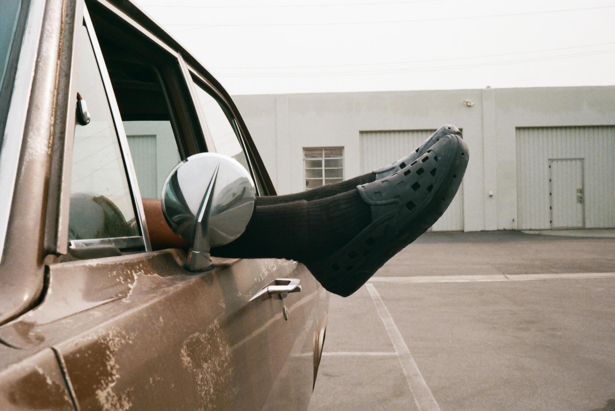 Vans The Trek Slip-On - VN0A5HF8BLK - VN0A5HF8NVY - VN0A5HF850K